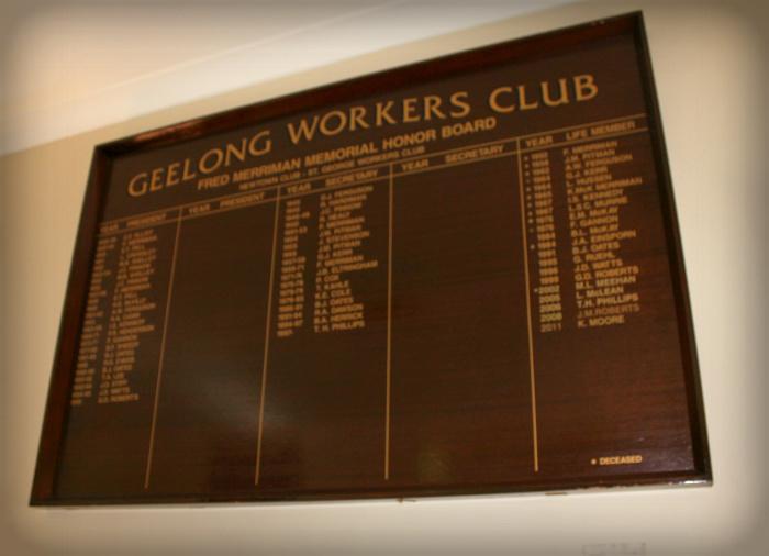 Raffles St George Workers Club