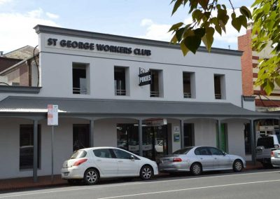 St-George-Workers-Club-BUILDING-from-front-street-Geelong-entertainment-pokies